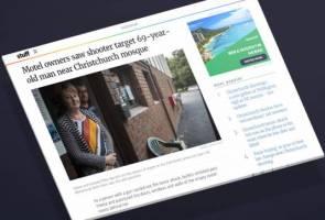 Tragedi solat Jumaat Christchurch: Pemilik motel panik lihat lelaki terbaring berlumuran darah