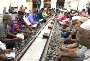 Majlis bacaan Yassin, tahlil dan doa selamat untuk Christchurch