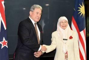 Malaysia - New Zealand perkukuh kerjasama menentang aktiviti keganasan