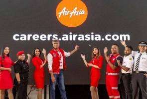 AirAsia lancar laman web permudahkan saluran permohonan kerja 2