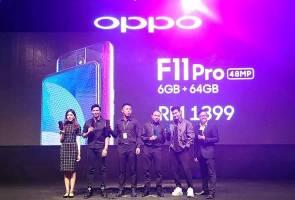 Inovasi baru Oppo F11 Pro bantu pengguna rakam potret malam lebih jelas