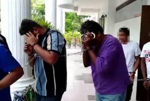 Bapa dan anak dituduh bunuh pemandu lori di taman permainan
