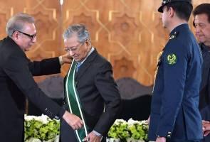 Tun M terima anugerah tertinggi Pakistan