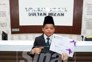 Sultan Mizan bertemu 'Mowgli Malaysia'