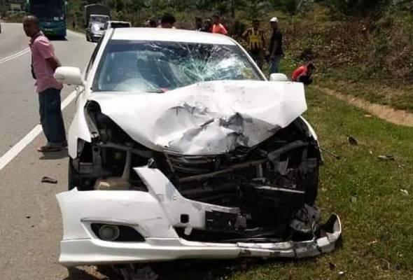 Dua pelajar UiTM Jengka maut kemalangan