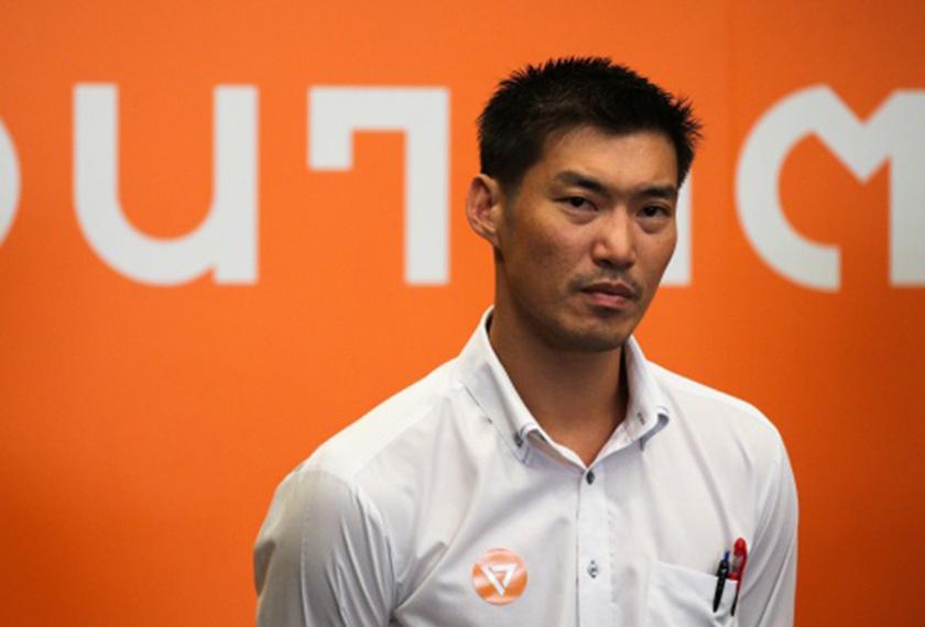 Thanathorn Juangroongruangkit, pemimpin Future Forward Party, diramal bakal memenangi undi generasi muda pada pilihan raya umum akan datang. Foto cfr.org