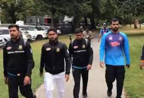 Tembakan rambang Christchurch: 'Alhamdulillah, Allah selamatkan kami' - Pasukan kriket Bangladesh