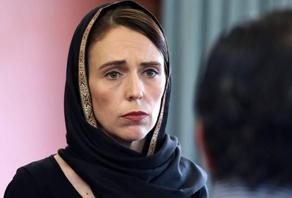 Serangan Pengganas Christchurch: Foto PM New Zealand