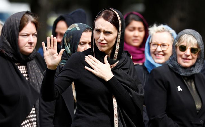 Jacinda Ardern, Prime Minister, Christchurch, New Zealand