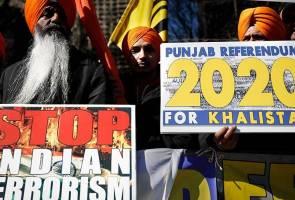 Penunjuk perasaan berhimpun di pekarangan PBB, bantah konflik India-Pakistan