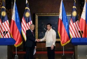 Isu dua hala: Mindanao jadi teras pertemuan Dr Mahathir, Duterte