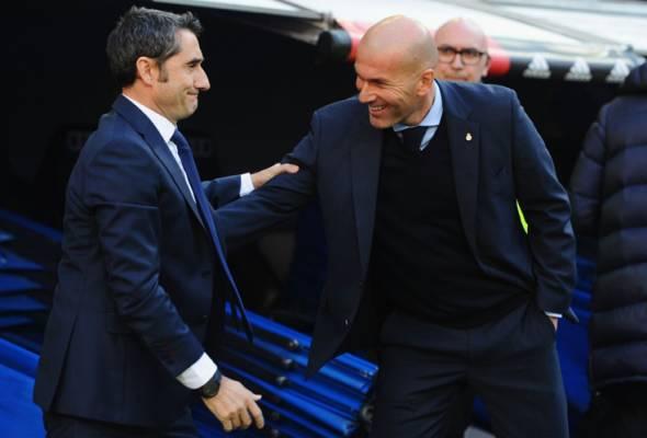 Valverde tidak sabar hidupkan semula perseteruan dengan Zidane