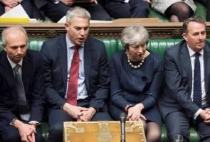 Ahli Parlimen Britain sokong usul minta EU lanjut tempoh rundingan