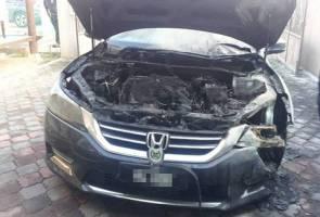 Suspek utama kes bakar kereta Mufti diberkas, seorang lagi diburu