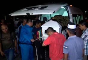 Tiga beranak maut kemalangan selamat dikebumikan