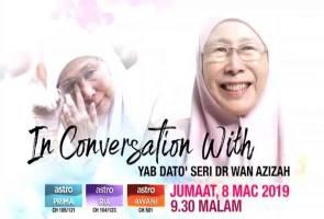 Wan Azizah cerita detik percintaan dengan Anwar 2