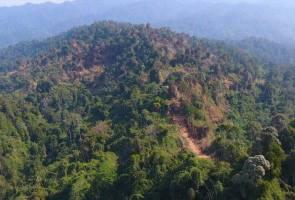 Kebakaran Hutan Simpan Gunung Korbu berjaya dipadamkan