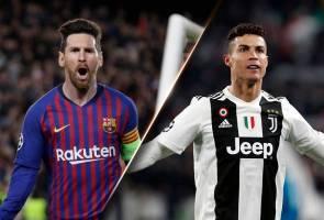 Lebih 380,000 orang undi siapa terhebat sepanjang zaman: Messi atau Ronaldo?