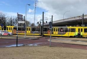 Tembakan rambang di Utrecht, beberapa penumpang tram cedera