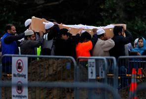 Tragedi Christchurch: Dua lagi jenazah selamat dikebumikan