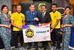 Malaysia Airlines kini rakan penerbangan rasmi FAM