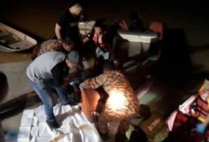 Mayat lelaki terjatuh di Sungai Kerian ditemui