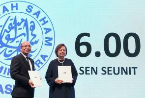 PNB agih pendapatan 6.00 sen seunit untuk ASB2