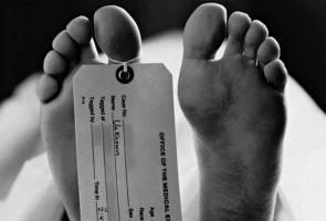 Mayat wanita ditemui di dalam Parit Besar