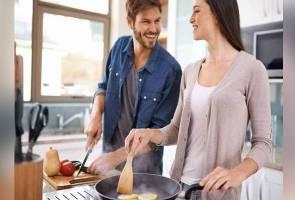 Cara mudah 'hasut' isteri agar rajin memasak