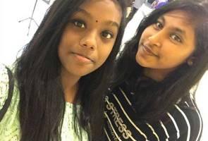 Ternampak mereka? Dua gadis pelajar SMK Assunta hilang sejak Ahad