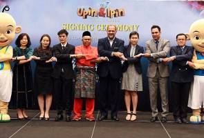 Upin & Ipin: Keris Siamang Tunggal bakal popular di China