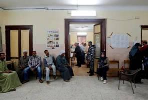 Rakyat Mesir keluar mengundi hari ini