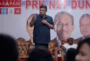 PRK Rantau: Pengundi perlu 'rehatkan' Tok Mat - Saifuddin Nasution