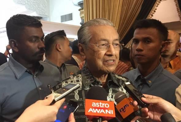 PRK Rantau: Saya tidak berapa optimis, tapi harap kita menang - Tun M