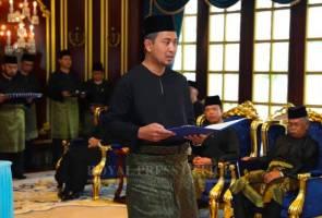 Dr Sahruddin Menteri Besar Johor baharu