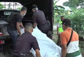 Mayat suami ditemui tergantung, isteri pula ditemui terlentang atas katil