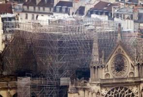 Tragedi Katedral Notre Dame: Derma baik pulih cecah RM3.26 bilion