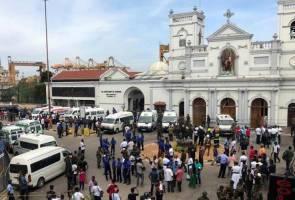 Puluhan terbunuh dalam letupan gereja, hotel di Sri Lanka
