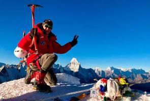 Pendaki Malaysia terkandas di Annapurna