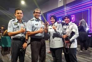 Sekretariat Delta TUDM terima anugerah Media Sosial Malaysia