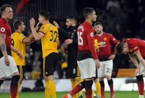 Manchester United dibaham Wolves sekali lagi