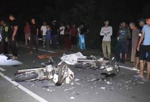Motosikal bertembung, dua sahabat maut di Terengganu