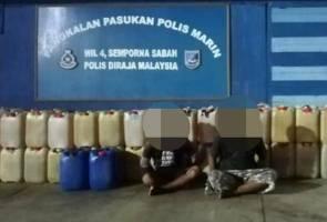 VAT 69, Polis Marin Semporna tumpas sindiket seludup minyak