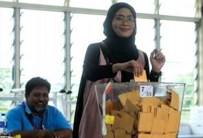 Siti Nordiana tidak lepas peluang mengundi di Rantau