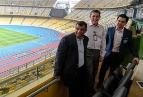 'Stadium Wembley' di Bukit Jalil