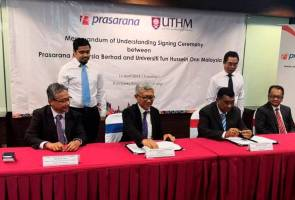 'Industrial Centre of Excellent for Railway' UTHM kekal relevan