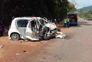 Lima sekeluarga maut dalam perjalanan pulang menghadiri majlis perkahwinan