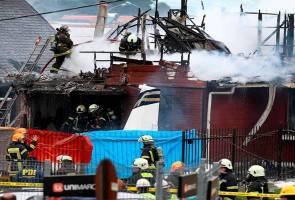 Pesawat terhempas atas rumah di Chile, enam terkorban