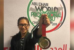 Cassandra raih emas Kejohanan Dunia Jiu-jitsu Abu Dhabi