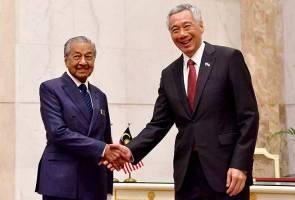 Dr Mahathir, Hsien Loong sanjung kerjasama dalam siasatan 1MDB